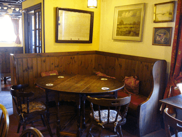 Part of the Dining Area at the Tynte