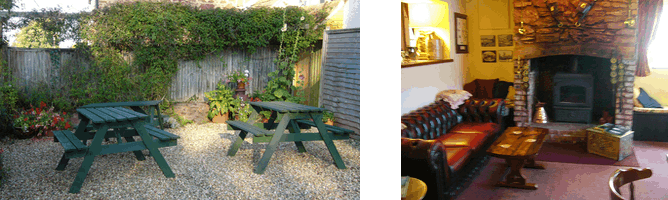 The Tynte - Courtyard Garden and Cosy Real Fire